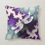 Almohada púrpura de la libélula
