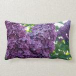Almohada púrpura de las lilas