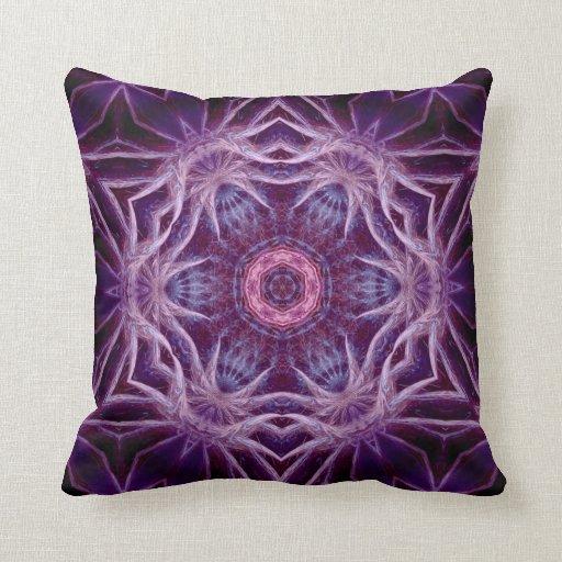 Almohada púrpura de MoJo del americano de la estre