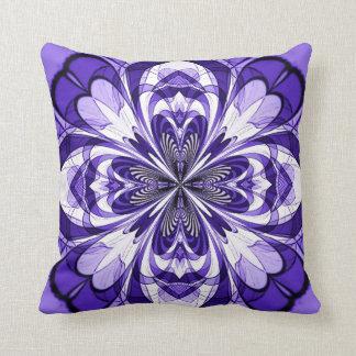 Almohada púrpura de MoJo del americano de la flor