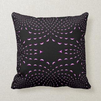 Almohada púrpura de MoJo del americano del fractal