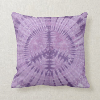Almohada púrpura de MoJo del americano del teñido