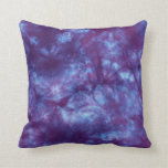 Almohada púrpura de MoJo del teñido anudado del al