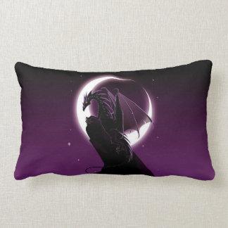 Almohada púrpura del Lumbar del dragón