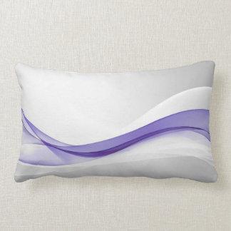 Almohada púrpura del Lumbar del extracto de la