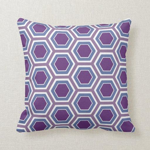 Almohada púrpura del panal