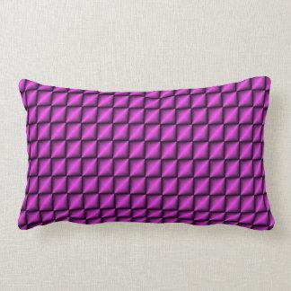 Almohada púrpura del zigzag