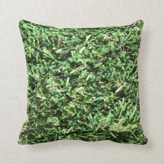 Almohada realista de la hierba cojín decorativo