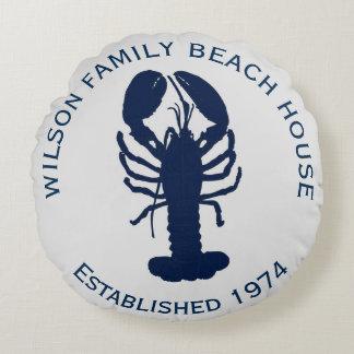 Almohada redonda de la casa de playa de la cojín redondo