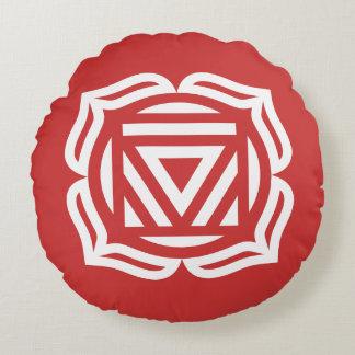 Almohada redonda de la energía de Chakra de la Cojín Redondo