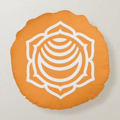 Almohada redonda de la energía sacra de Chakra