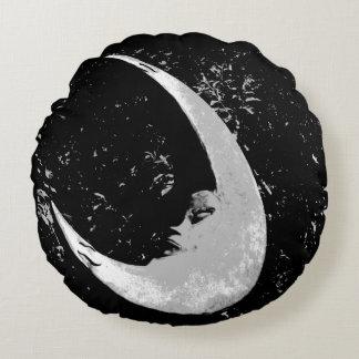Almohada redonda de la luna cojín redondo