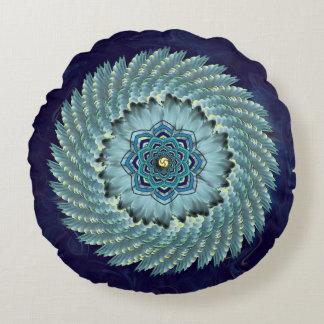 Almohada redonda de la mandala de Lotus del ala Cojín Redondo