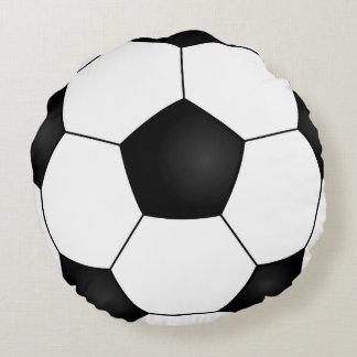 Almohada redonda del balón de fútbol cojín redondo