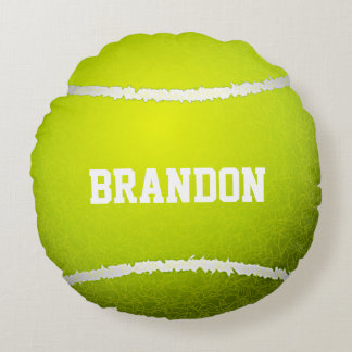 Almohada redonda del diseño de la pelota de tenis cojín redondo