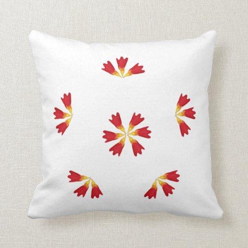 almohada redonda del tulipán