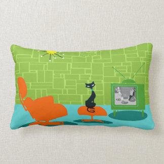 Almohada retra del Lumbar del gatito de la era Cojín Lumbar