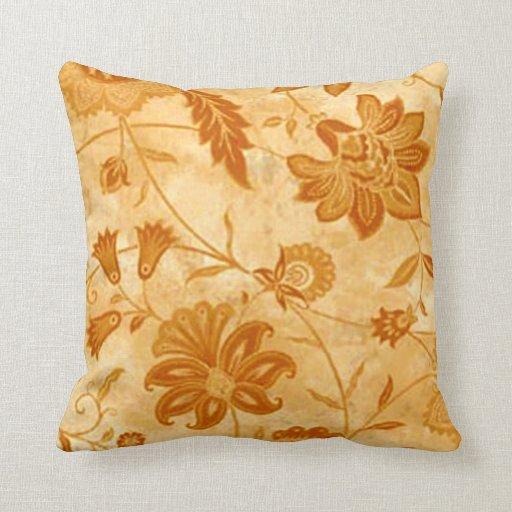 Almohada reversible floral