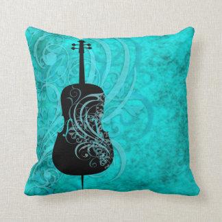 Almohada rococó del violoncelo del trullo