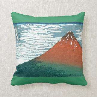Almohada roja de Fuji