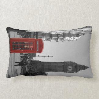 Almohada roja de la cabina de teléfonos de Londres