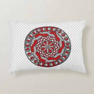 Almohada roja del acento de la maquinaria cojín decorativo