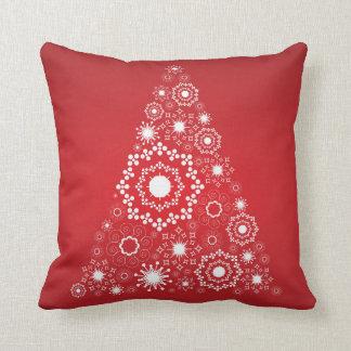 Almohada roja del día de fiesta del navidad