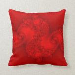 Almohada roja del fractal