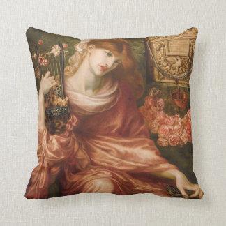 Almohada romana del jugador de la arpa de Rossetti