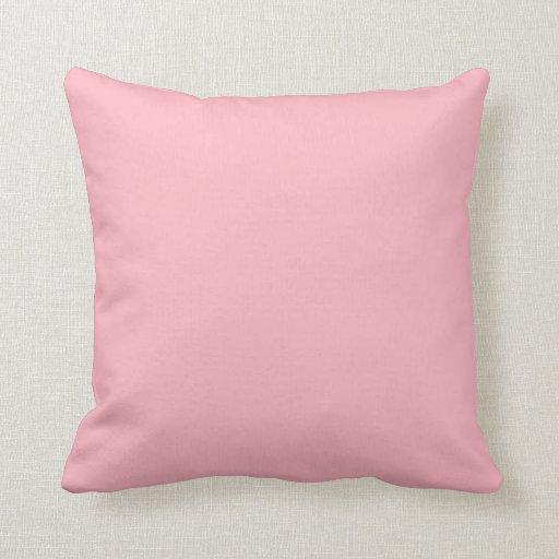 Almohada rosa clara de MoJo del americano