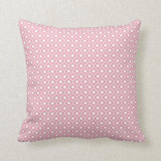 Almohada rosada 1 del algodón del modelo de Argyle