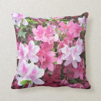 Almohada rosada de la azalea