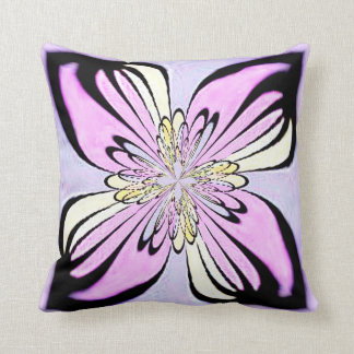 Almohada rosada de MoJo del americano del fractal