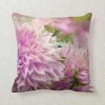 Almohada rosada del decorador del arte de las dali