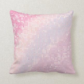 Almohada rosada femenina del sofá del tiro del Gli