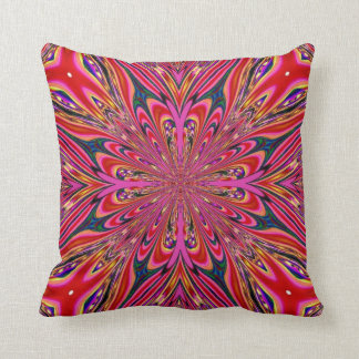 Almohada rosada roja de MoJo del americano del fra