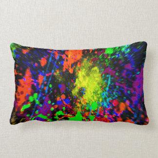 Almohada salpicada dimensional de la pintura 2