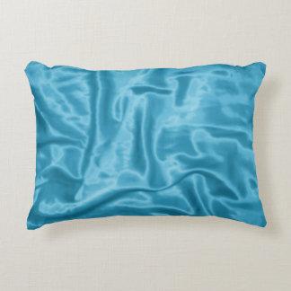Almohada Satén-Rectangular azul clara del acento Cojín Decorativo