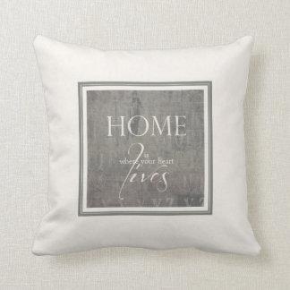 "Almohada serie ""sweet home "" cojín decorativo"