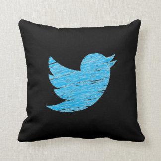 Almohada social de los medios cojín decorativo