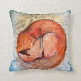 Almohada soñolienta del Fox