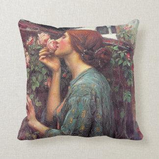 Almohada subió Pre-Raphaelite de Juan W.