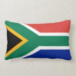 Almohada surafricana de la bandera