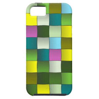 almohada tejida s6.png del verde del modelo iPhone 5 protectores