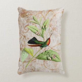 Almohada Throated ardiente del acento del colibrí