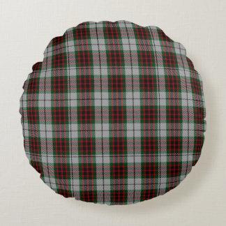 Almohada tradicional del tartán del vestido de cojín redondo