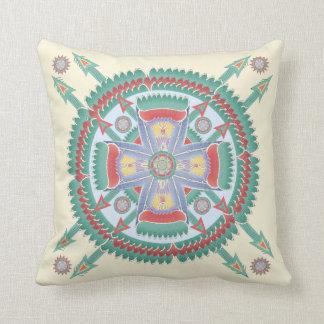 Almohada tribal de encargo del adorno