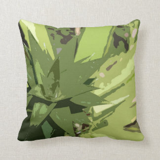 Almohada tropical abstracta de la piña