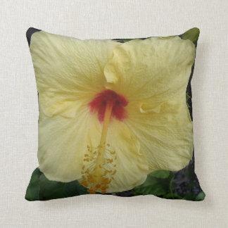 Almohada tropical del hibisco