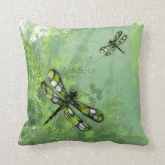 Almohada verde de MoJo del americano de las